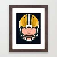 Faces-Green Bay Framed Art Print