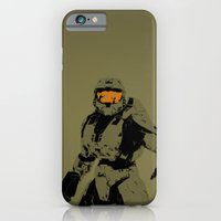 iPhone & iPod Case featuring Master Chief Redux by Anthony Bellus