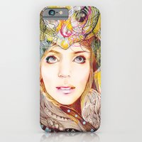 iPhone & iPod Case featuring Nasimeh by Felicia Atanasiu