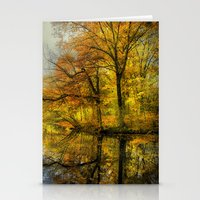 Fall Colors Of New Engla… Stationery Cards