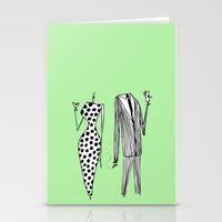 Him & Her Stationery Cards
