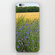 Field of Blue iPhone & iPod Skin