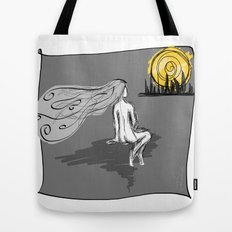 City Tonight Tote Bag