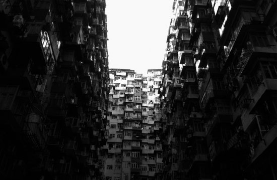:: Hong Kong Flats :: Art Print