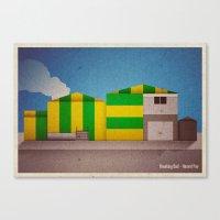Breaking Bad - Hazard Pa… Canvas Print