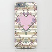 iPhone & iPod Case featuring Vintage Summer Love by Karma Cases