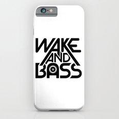 Wake And Bass (Black) iPhone 6s Slim Case