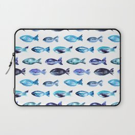 Laptop Sleeve - Sardines swimming to Sardegna - Katerina Izotova
