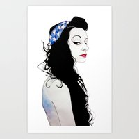 Reana America Art Print