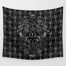 MAGICAL SECULORUM Wall Tapestry