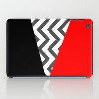 Color Blocked Chevron 10 iPad Case