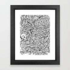 MEMENTO MORIARTY Framed Art Print