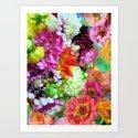 Botanic Boost Art Print
