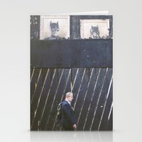 Black Wall Stationery Cards