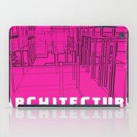 Architecture Pink iPad Case