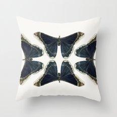 Callosamia Promethea Throw Pillow