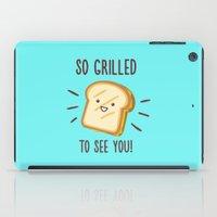 Cheesy Greetings! iPad Case
