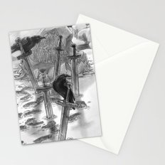 One Winter's Due - The Ravens Stationery Cards