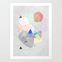 Graphic 170 Art Print