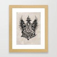 Deus Lex Mea - God is my Light Framed Art Print
