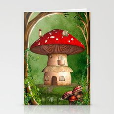 Dwarf Land Stationery Cards