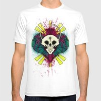 The Beauty Of Color And … Mens Fitted Tee White SMALL