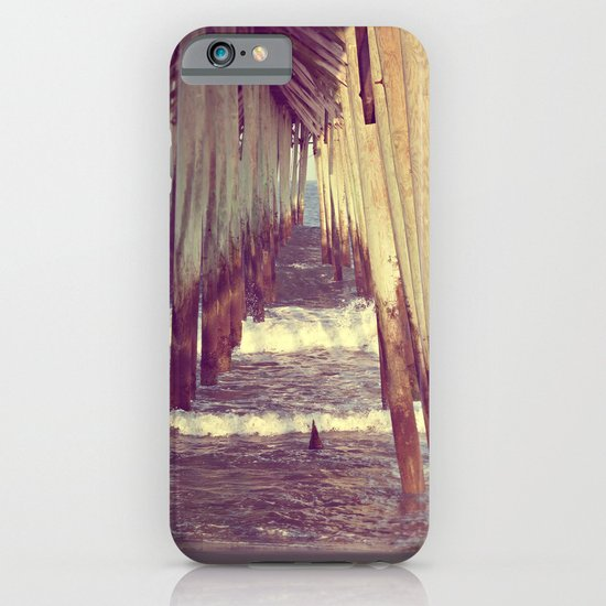 Carolina Beach Pier at Low Tide iPhone & iPod Case