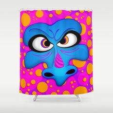 The Blue Dragon Shower Curtain