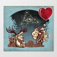 Eye Love U UU U U U Canvas Print