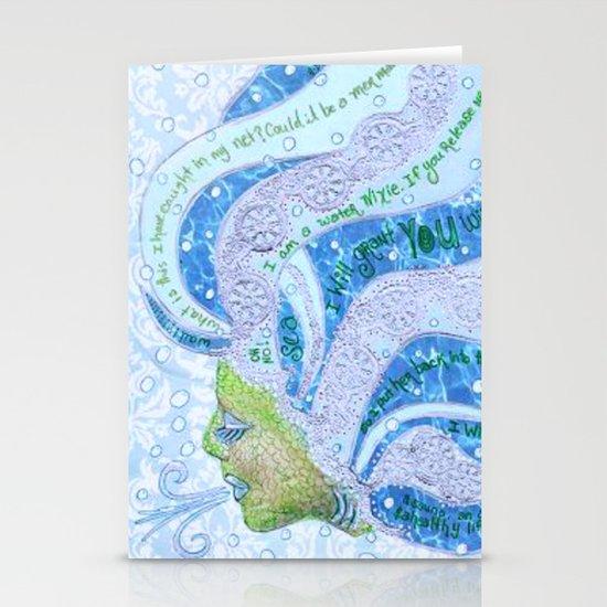 Nixie Stationery Card