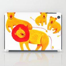 Lion Family iPad Case