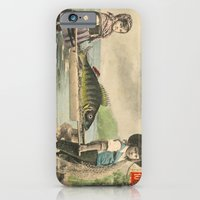 The April Fish - Vintage / Antique French Post Card - Piosson D'Avril - April Fools Day iPhone 6 Slim Case