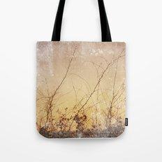 sea plants (gold) Tote Bag