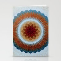 Toroidal Floral (ANALOG zine) Stationery Cards
