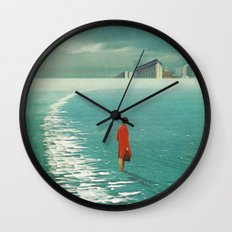 Waiting For The Cities T… Wall Clock