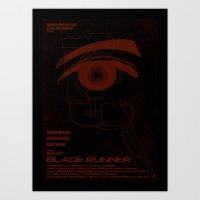 BLADE RUNNER (White - Vo… Art Print