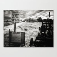 The Hewitt House – Texas Chainsaw Massacre 2003 & 2006 Movie Remakes Canvas Print