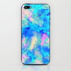Electrify Ice Blue iPhone & iPod Skin