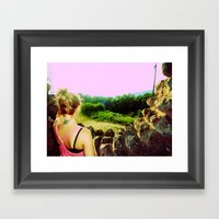 Witch`s Hat. Framed Art Print