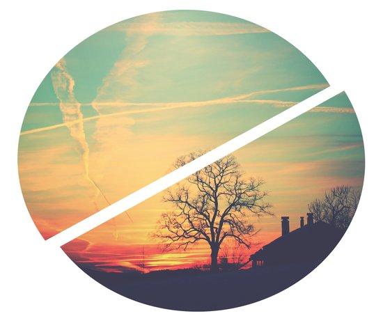 Colored Sky Art Print