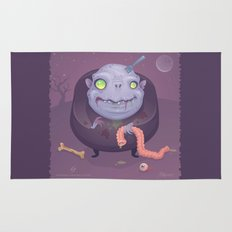 Blob Zombie Rug