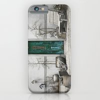 iPhone Cases featuring Winter Garden by Cynthia Decker