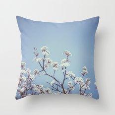 bradford pear : oklahoma  Throw Pillow