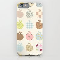iPhone & iPod Case featuring apples galore by flying bathtub
