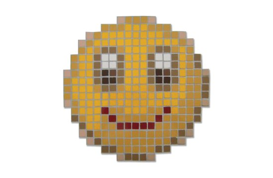 Emoticon Smile Art Print