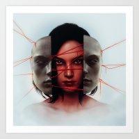 Facade. Art Print
