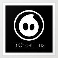 TriGhostFilms Art Print