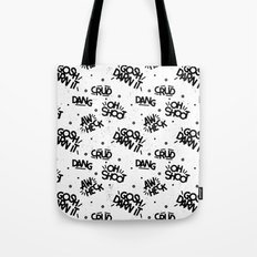 PG Cussin' Pattern Tote Bag