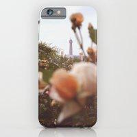 Flowers Grow In Paris iPhone 6 Slim Case