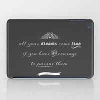 All your dreams iPad Case